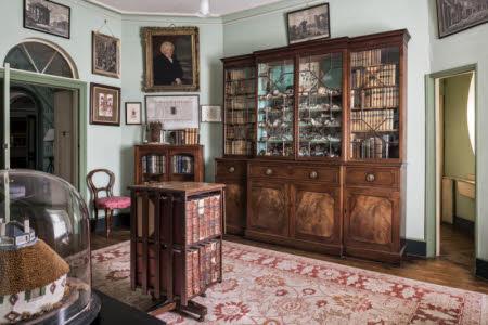 The Library at A la Ronde, Devon