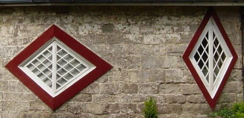 Windows of A la Ronde