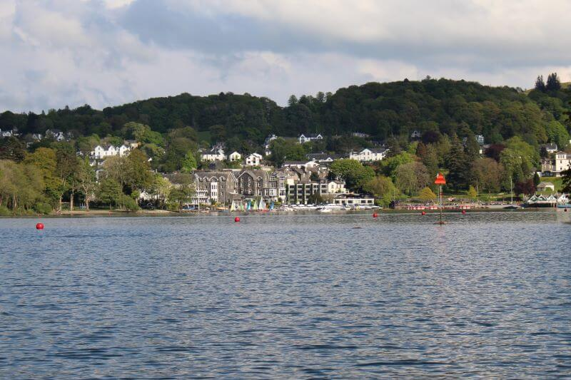 Bowness-on-Windermere from Windermere