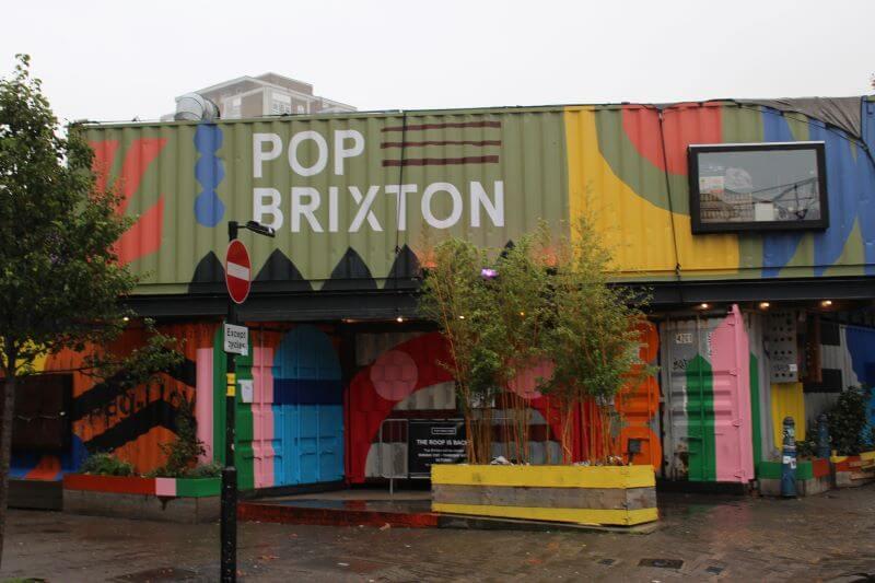 POP BRIXTON entrance
