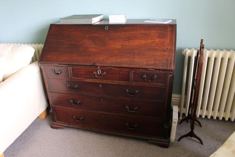 William's Desk at Castle Cottage