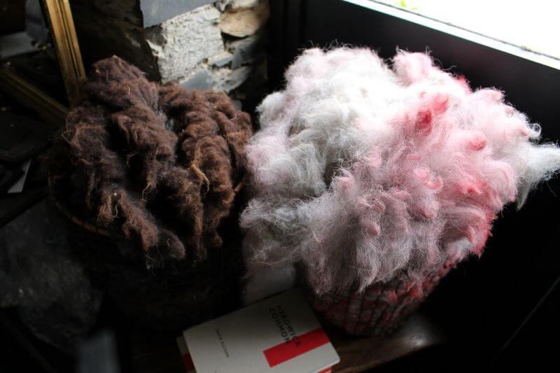 Wool of Herdwick Sheep