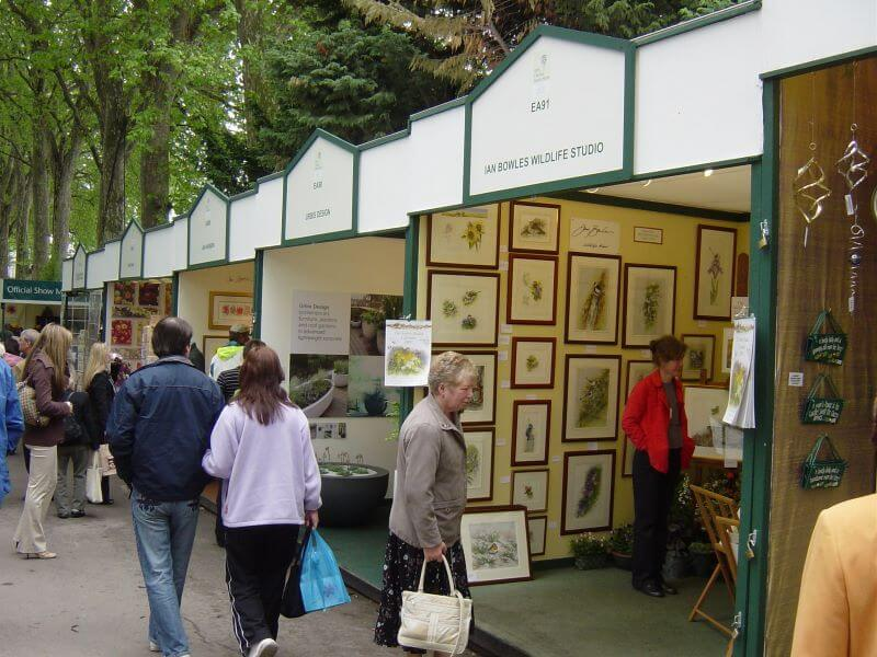 Shops at Chelsea Flower Show 2006