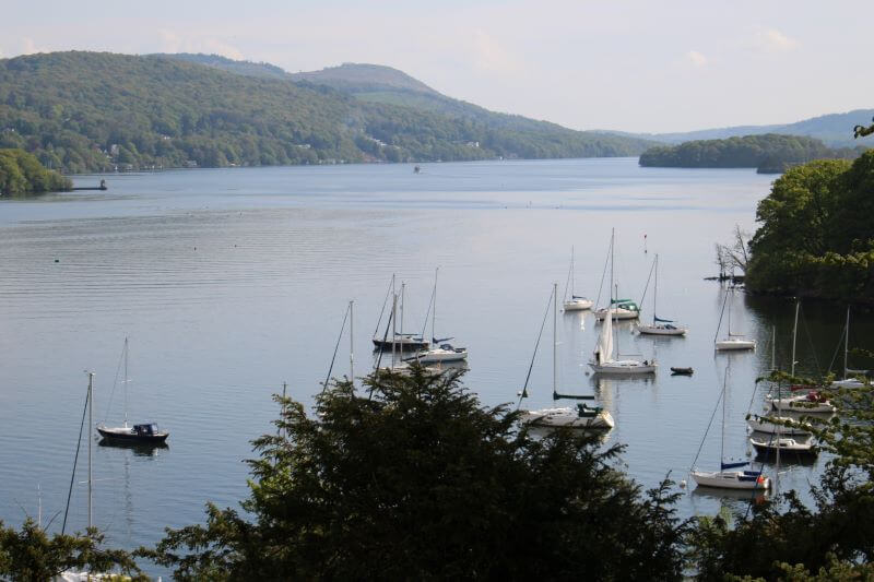The View of Windermere from Claife Viewing Station