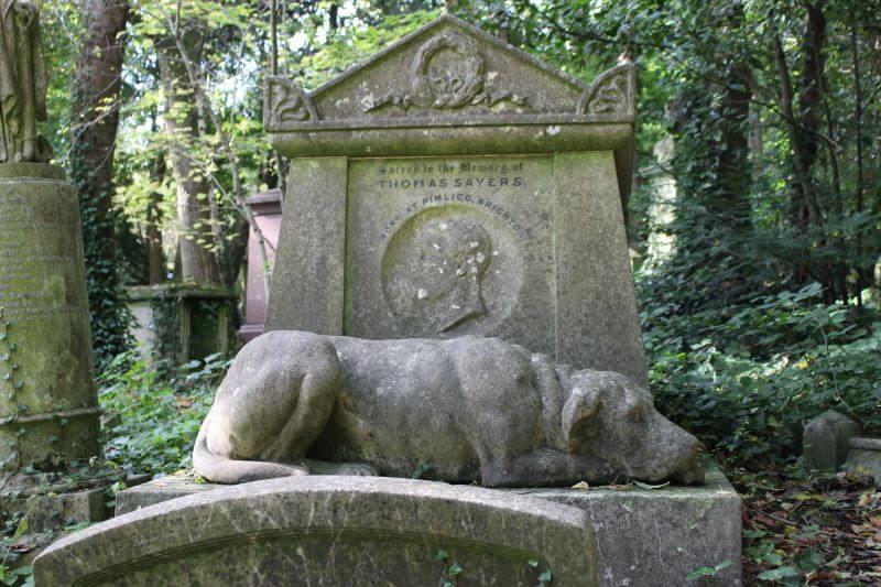 tomb of Thomas Sayers