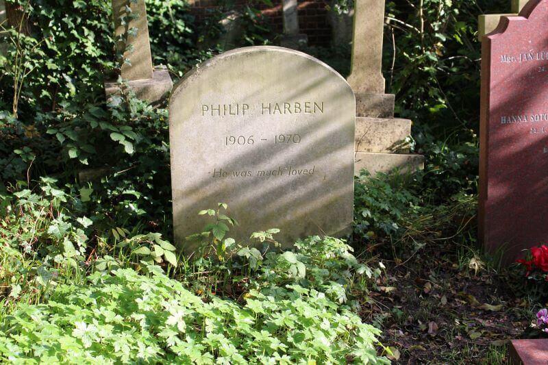 tomb of Philip Harben