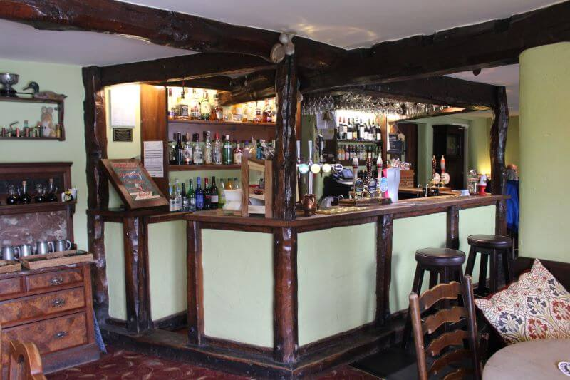 Bar Counter in Tower Bank Arms