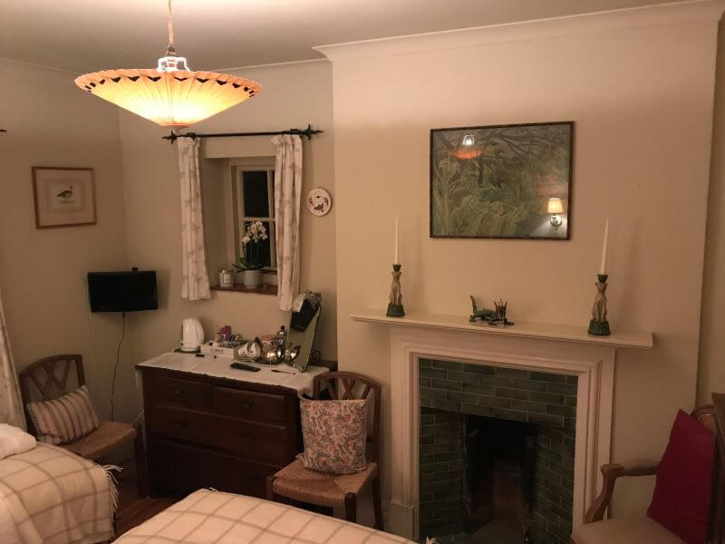 The Ming Room in Iolanthe B&B