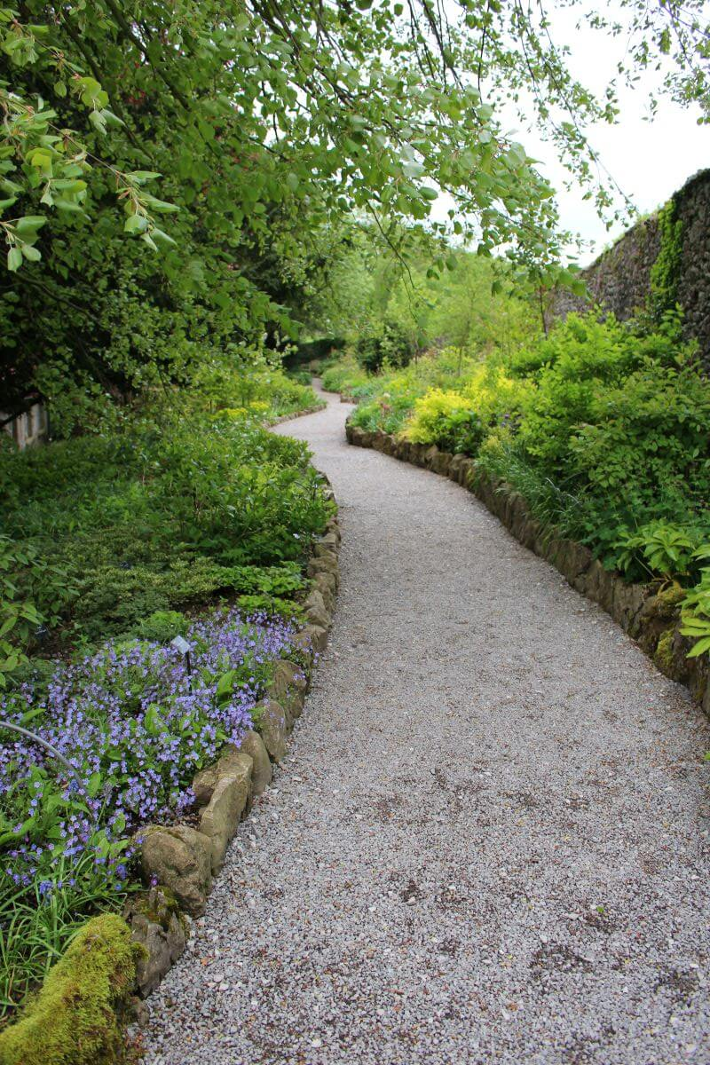 The Herbaceous Border at Sizergh Castle