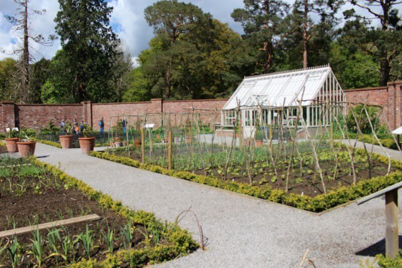 The Garden In Lingholm Estate