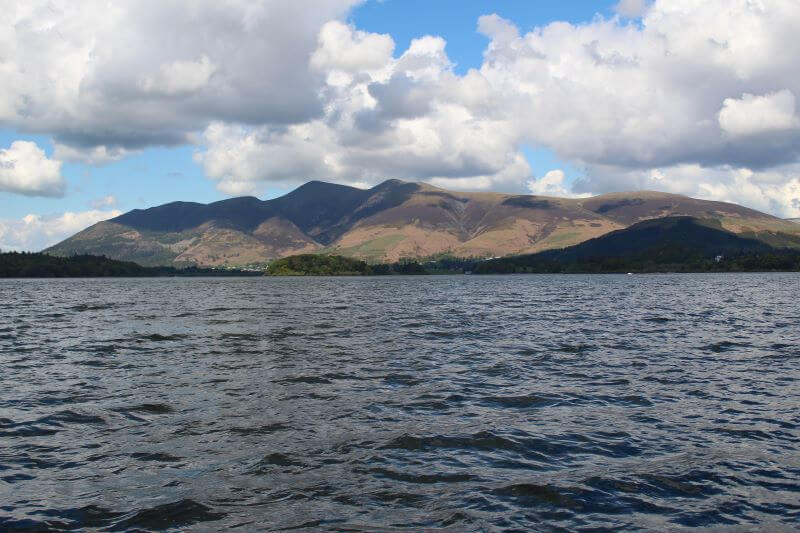 St Herbert's Island from Hawes End