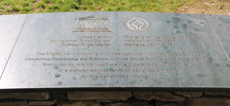 Monument of World Heritage in Lake District