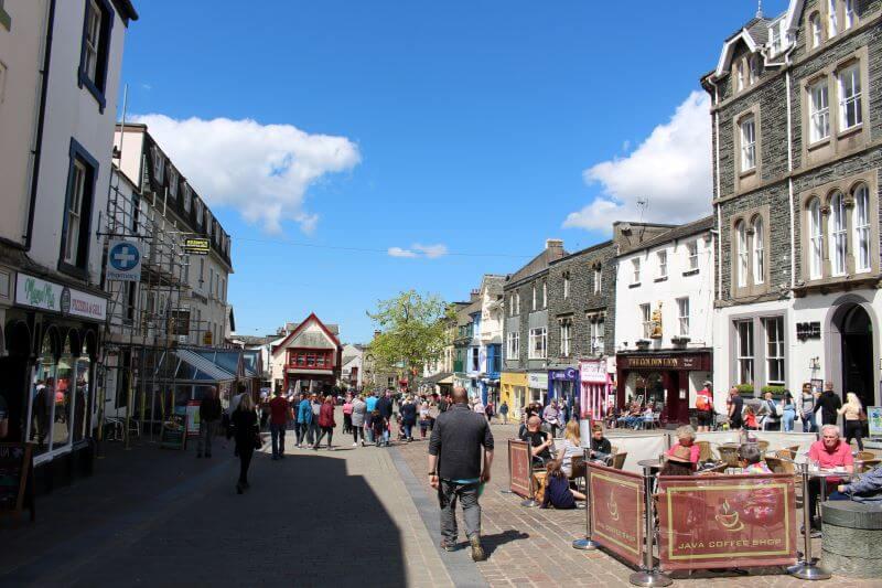 Market Square in Keswick