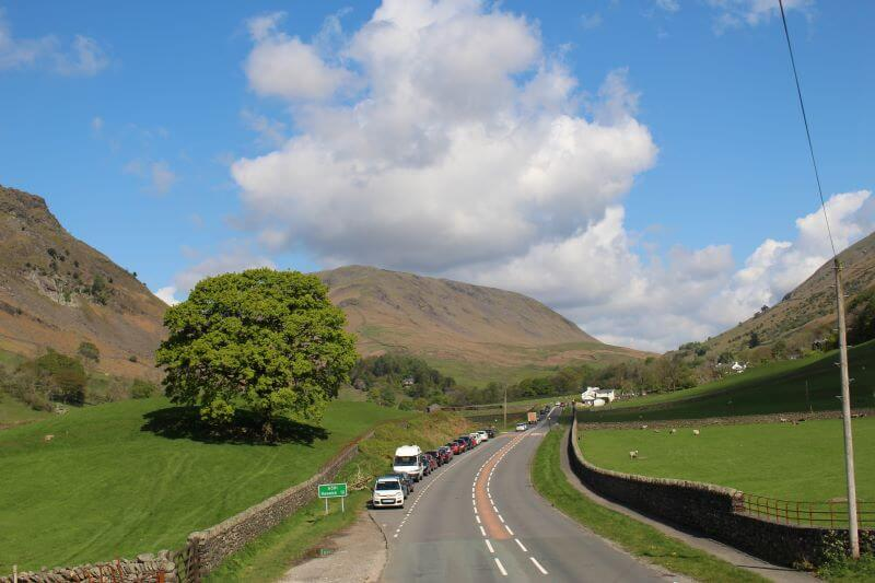 Bus 555 Route in Lake District