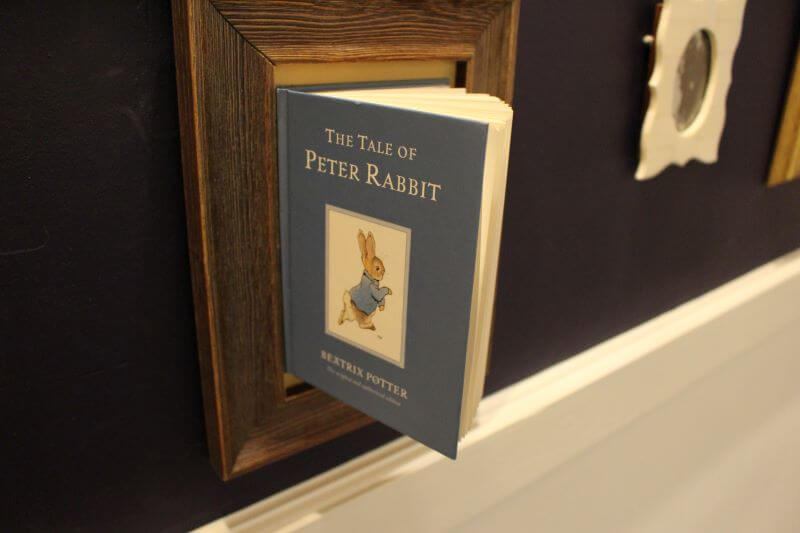 A book of the tale of Peter Rabbit in Lindeth Howe