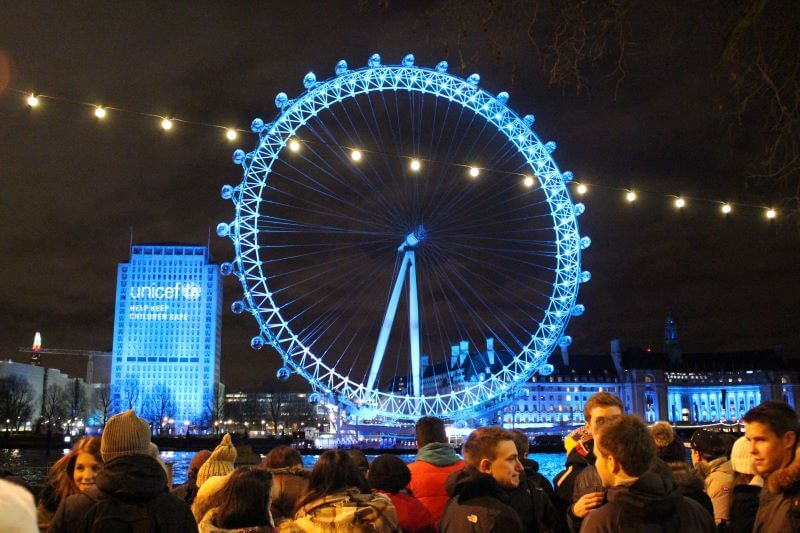 London New Year's Eve Fireworks 2015-2016