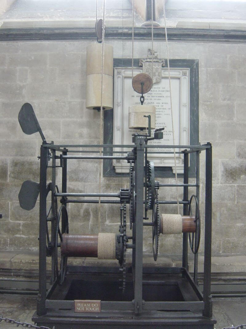 World's Oldest Clock at Salisbury Cathedral