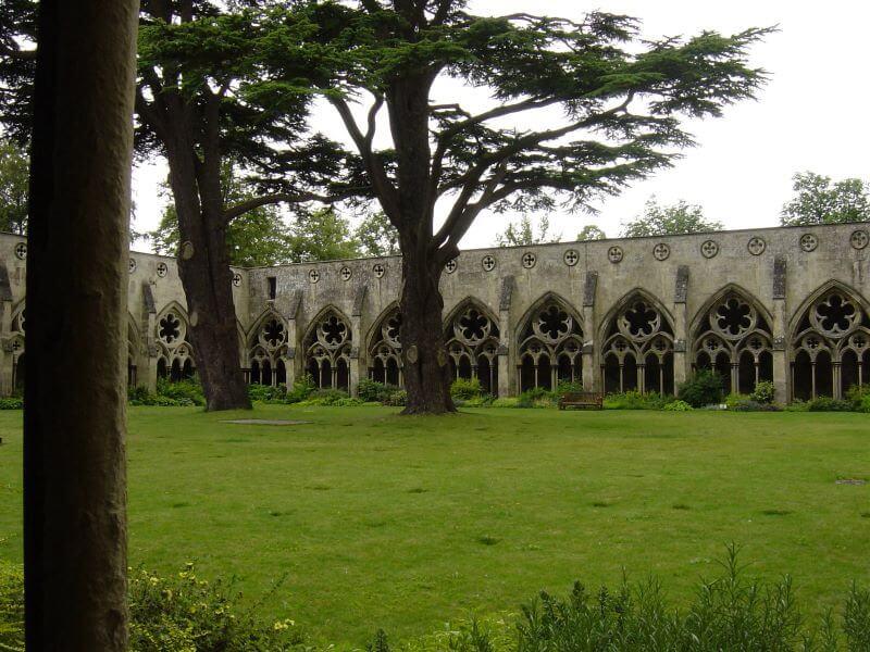 Cloister at Salisbury Cathedral