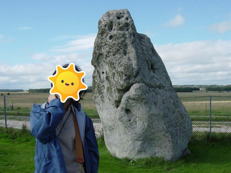 One stone at Stonehenge