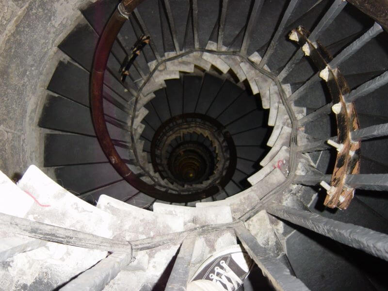 Staircases of the Monument