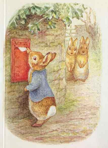 The World of Peter Rabbit Postcard Book Front Page