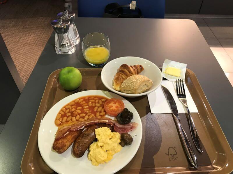 breakfast at ibis Manchester Centre Princess Street