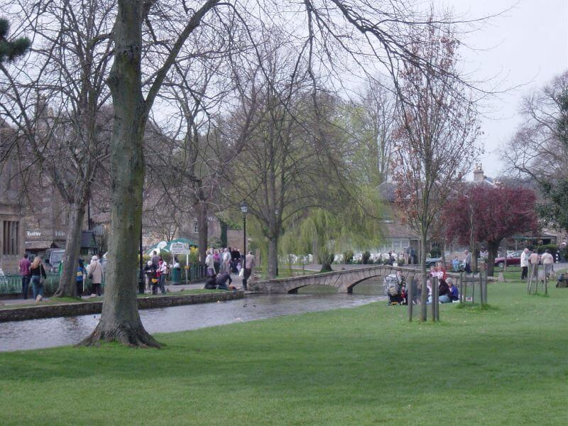 River Windrush at Bourton-on-the-Water