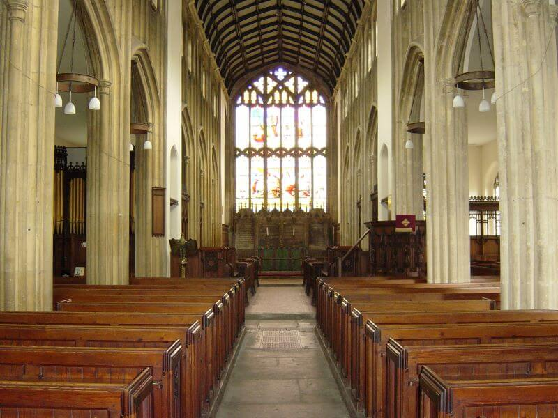 St Lawrence Church, Evesham
