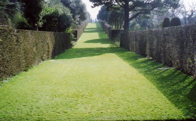 the long walk at Hidcote Manor Garden
