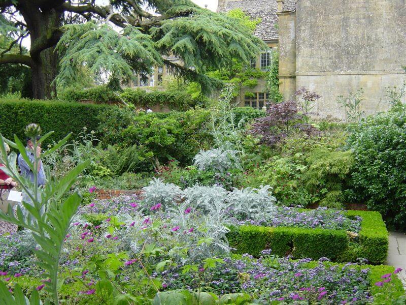 The White Garden at Hidcote Manor Garden