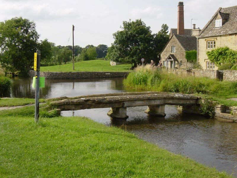 Small bridge at Lower Slaughter