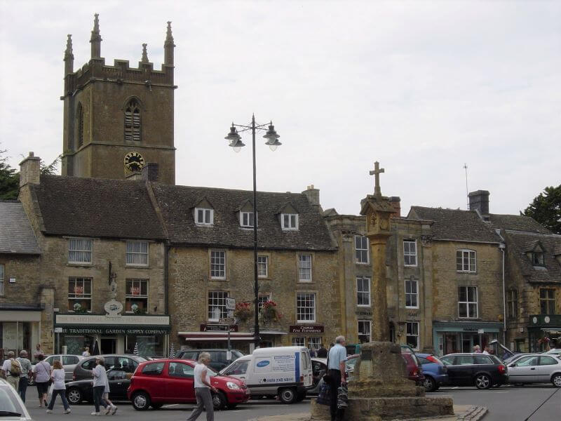 Market Square at Stow-on-the-Wold