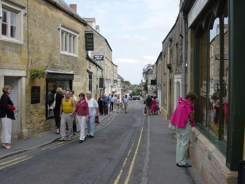 High Street at Stow-on-the-Wold