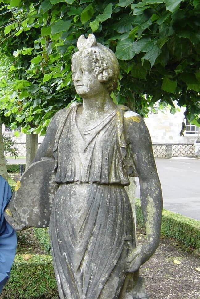 A statue at Wilton House