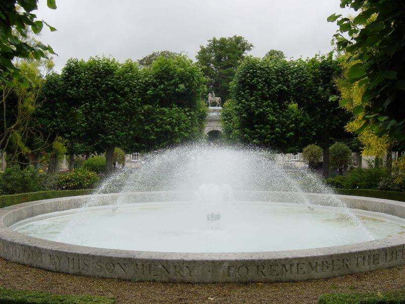 Tuder Garden at Wilton House