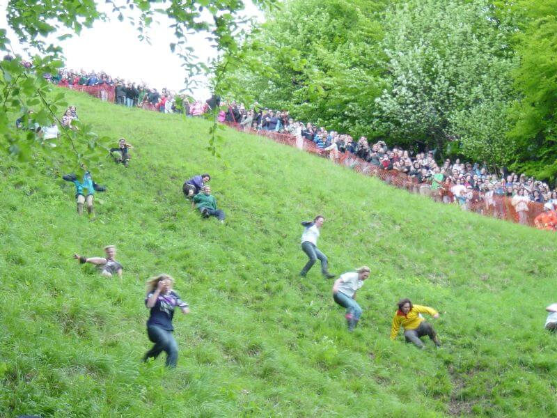 Cooper's HIll Cheese Rolling and Wake