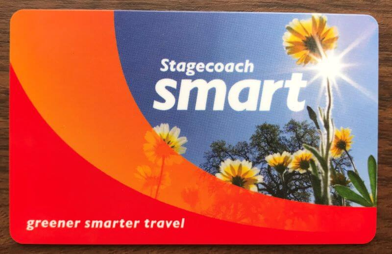Stagecoach smart card