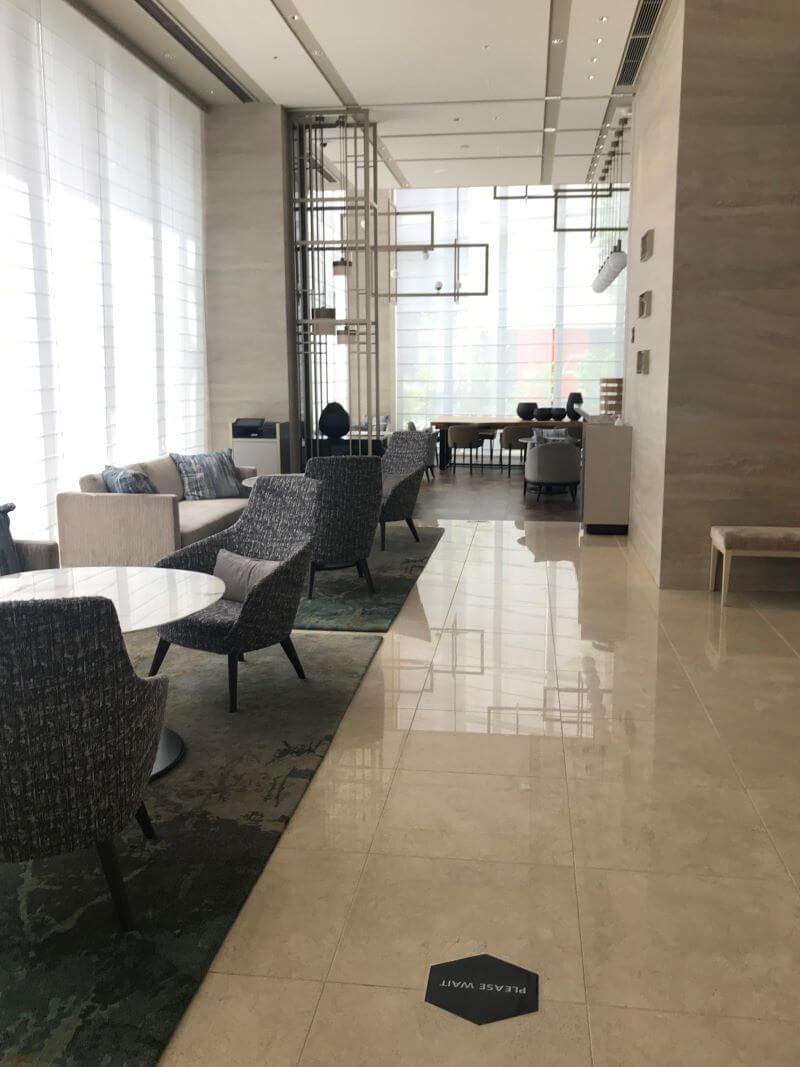 Lobby at Courtyard by Marriott Osaka Hommachi