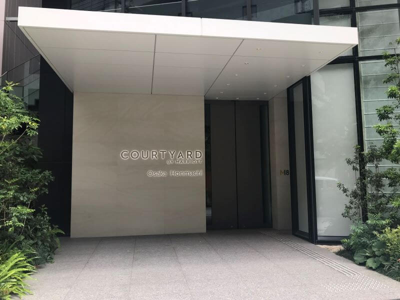 Entrance at Courtyard by Marriott Osaka Hommachi